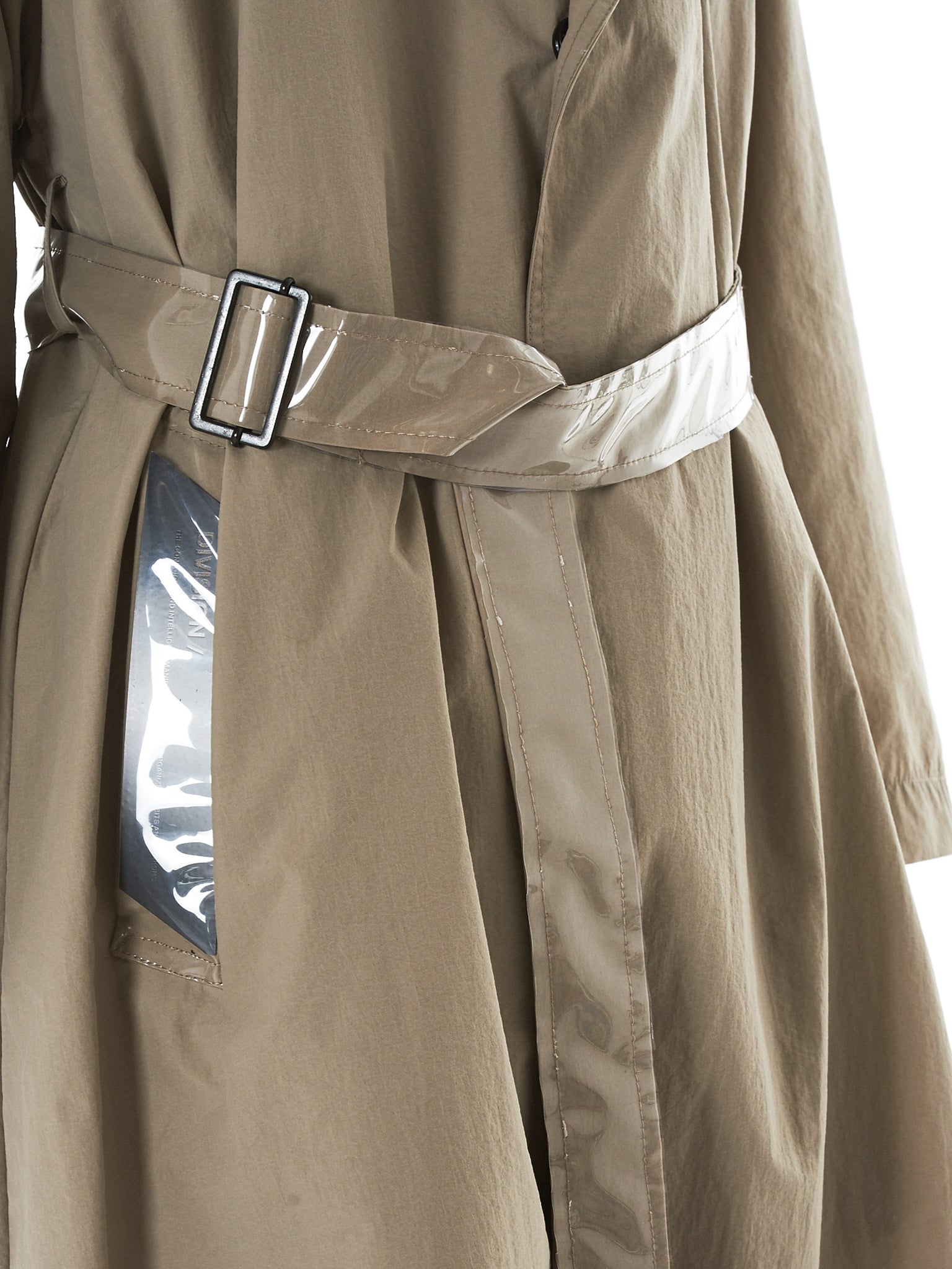 Tourne De Transmission Trench Coat - HLorenzo Detail 1