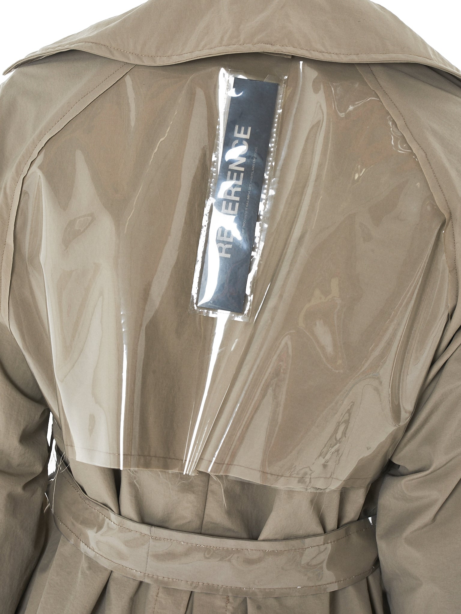 Tourne De Transmission Trench Coat - HLorenzo Detail 4