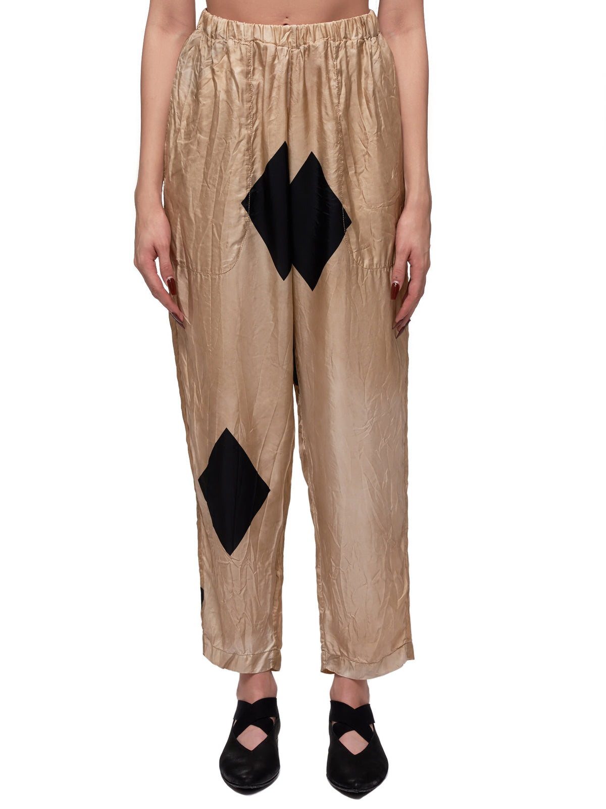 Pala Trousers (UW3001-TAN-BLACK)