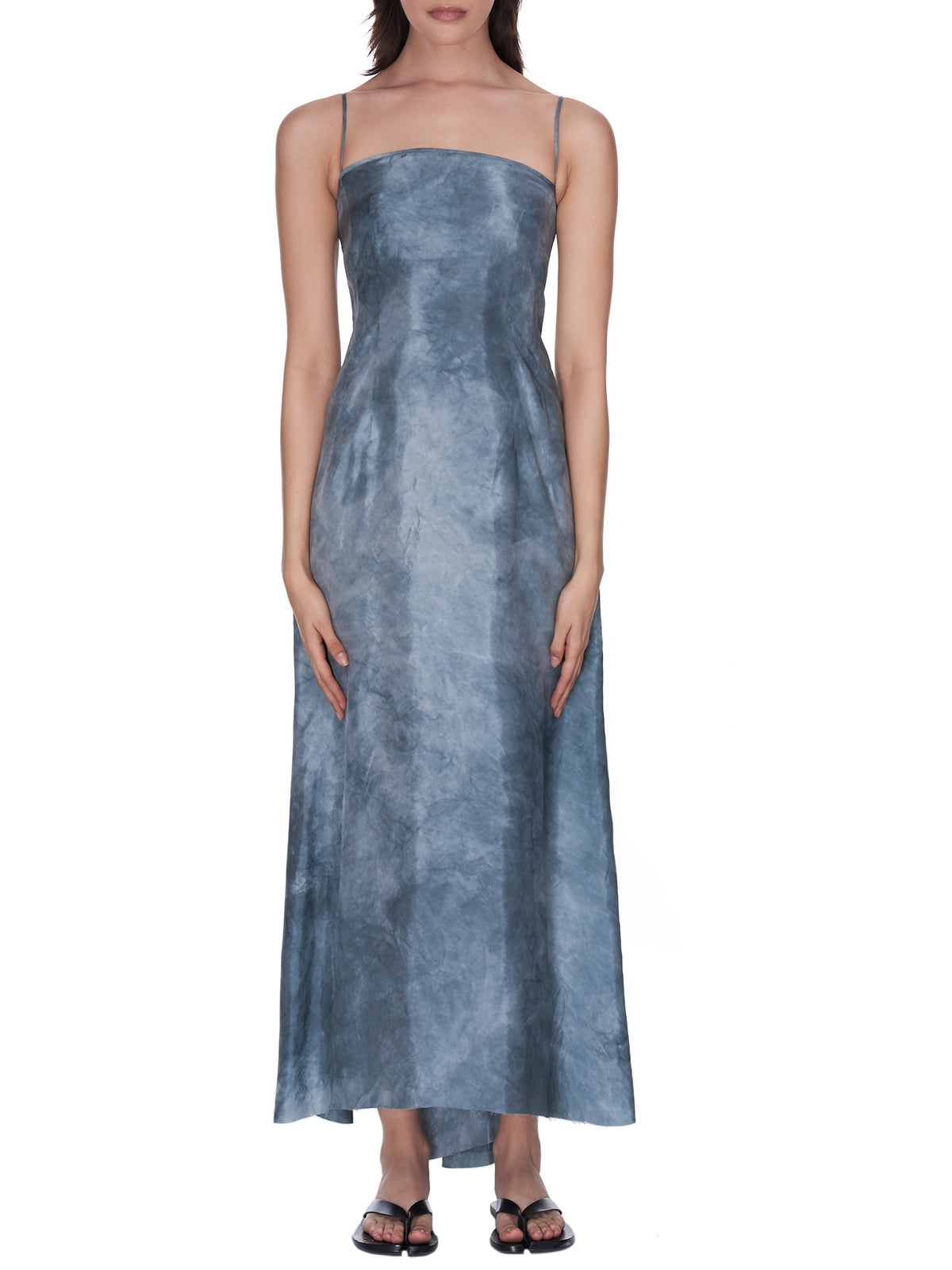 Amaranth Dress (UW5011-STEEL-BLUE)