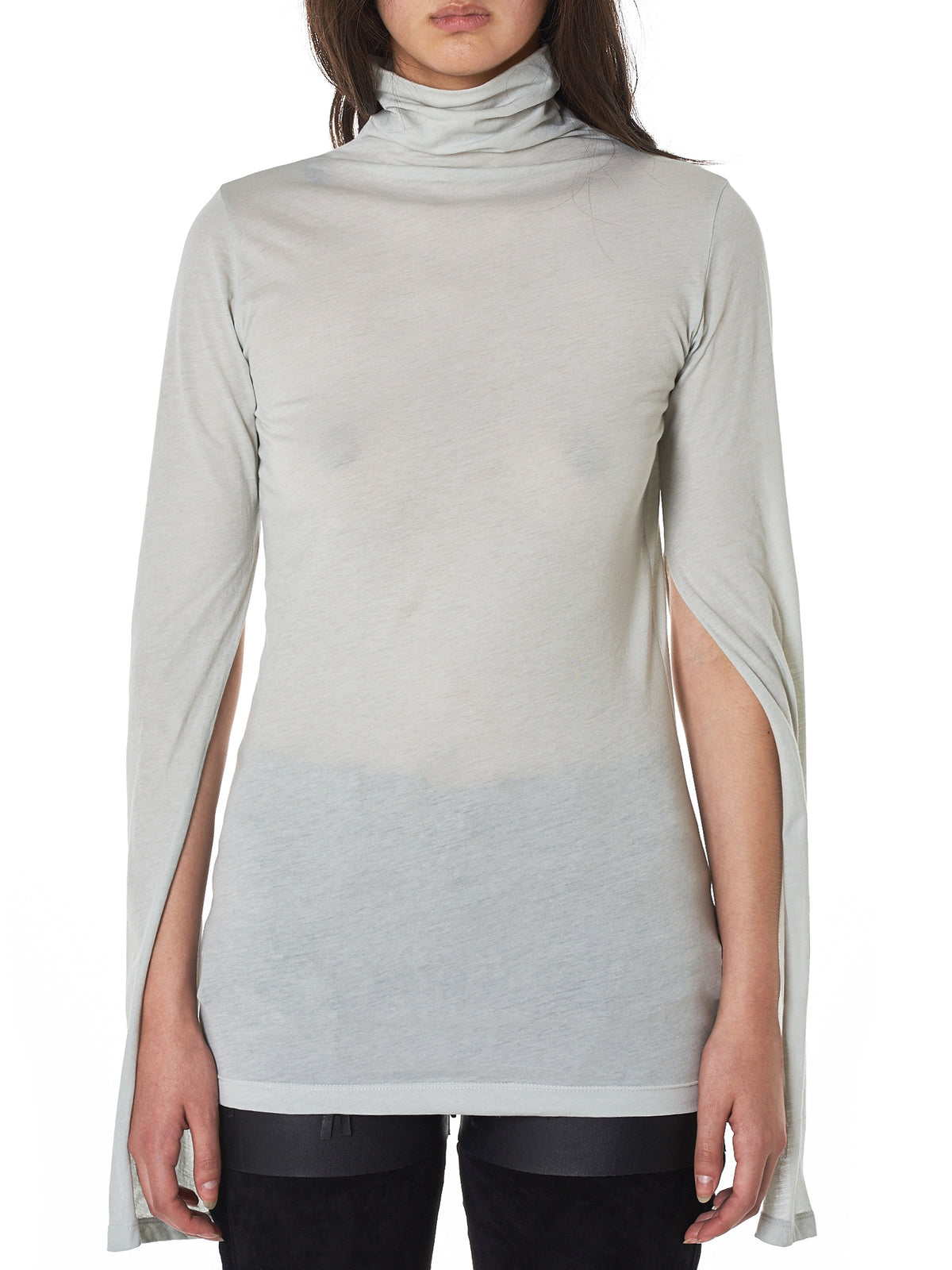 Unravel Turtleneck Top - Hlorenzo Front