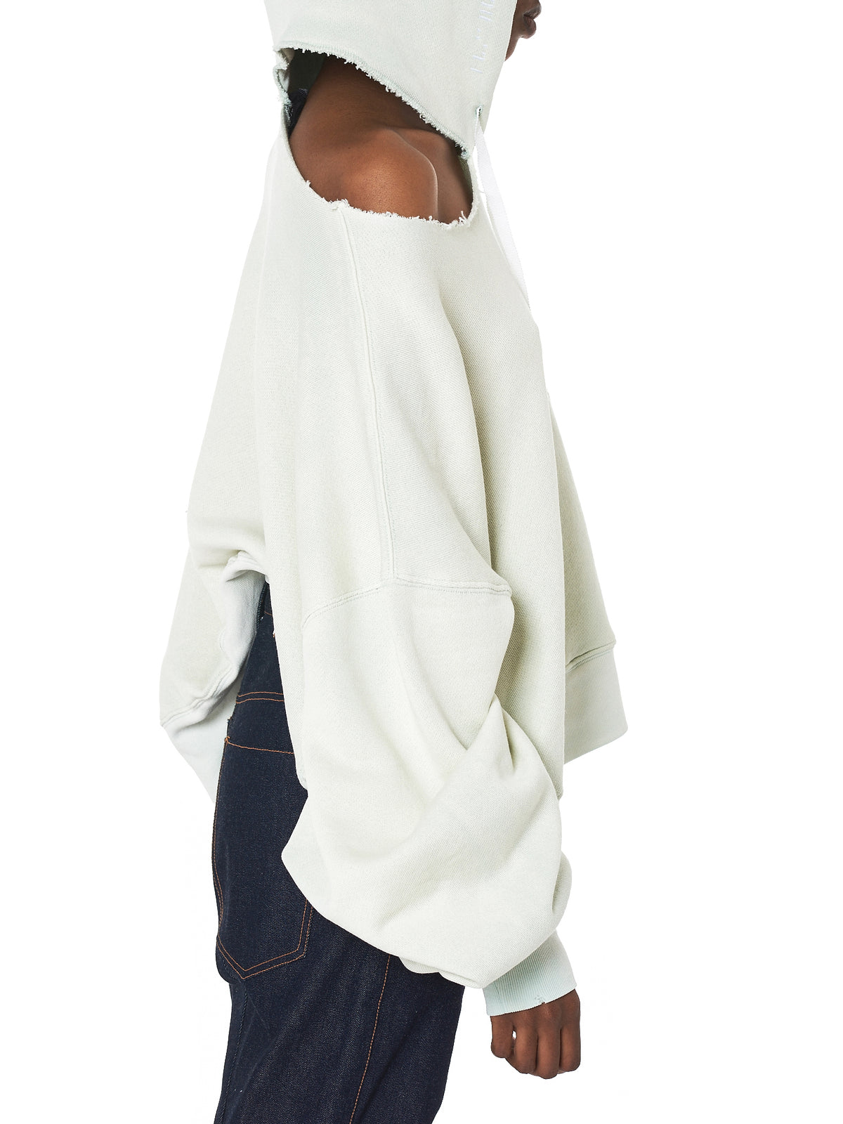 Unravel Hooded Pullover - Hlorenzo Detail 2