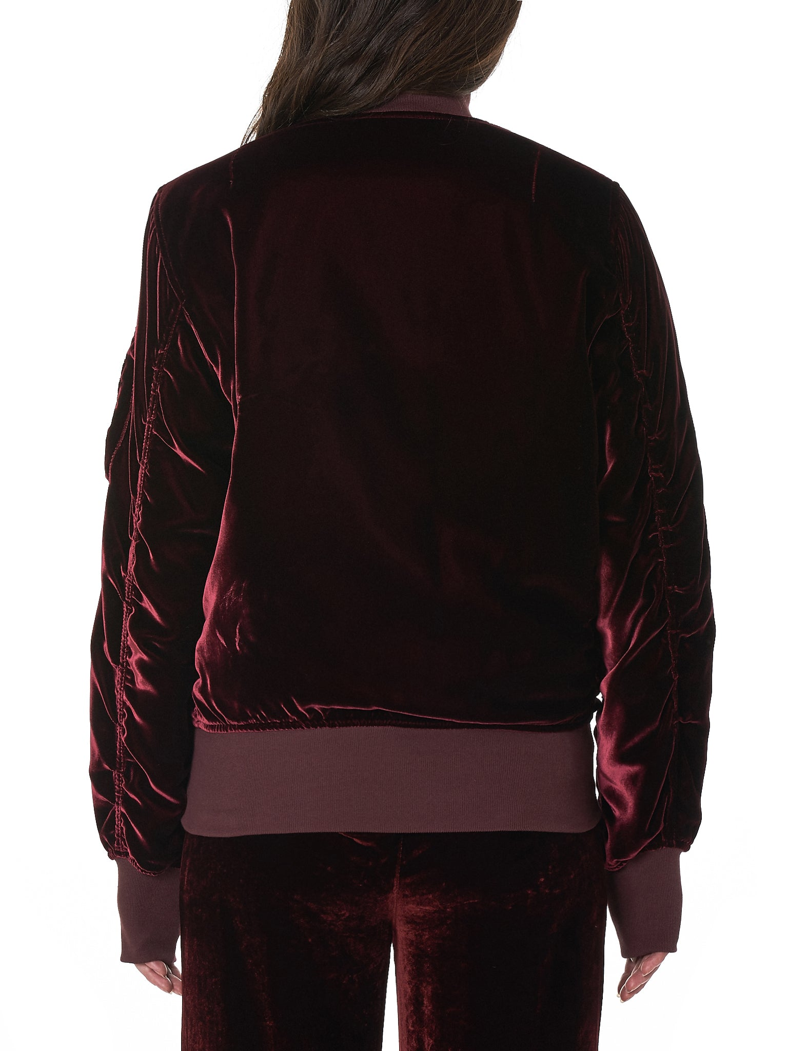 Unravel Bomber Jacket - Hlorenzo Back
