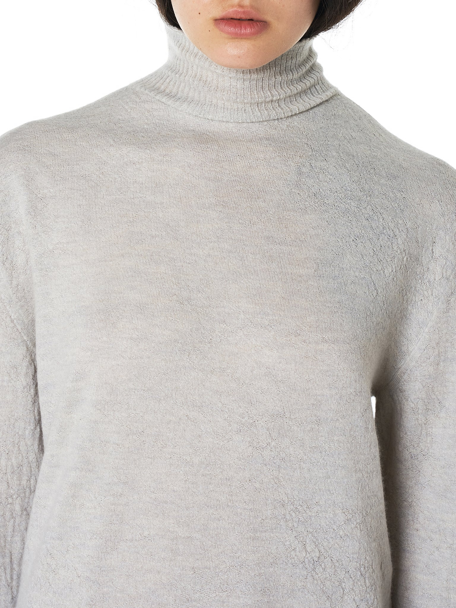 Unravel Turtleneck - Hlorenzo Detail 1