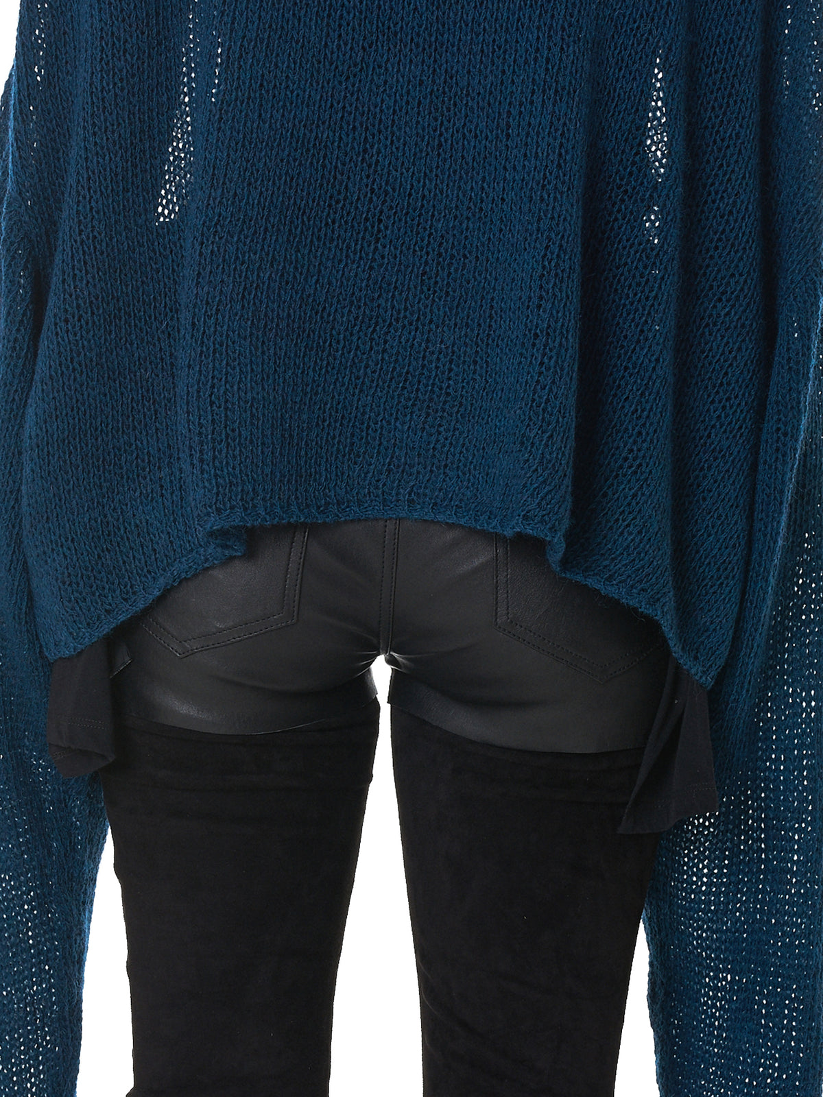 Unravel Turtleneck Sweater - Hlorenzo Detail 2