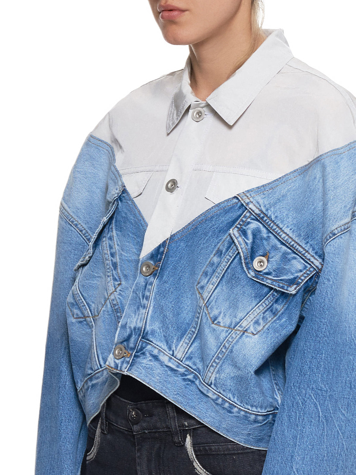 Hybrid Chop Jacket (UWYE005-LIGHT-BLUE)