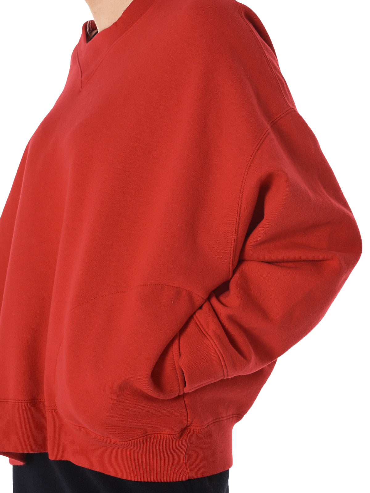 'VINCE' Cotton Pullover (VINCE-T605-RED)