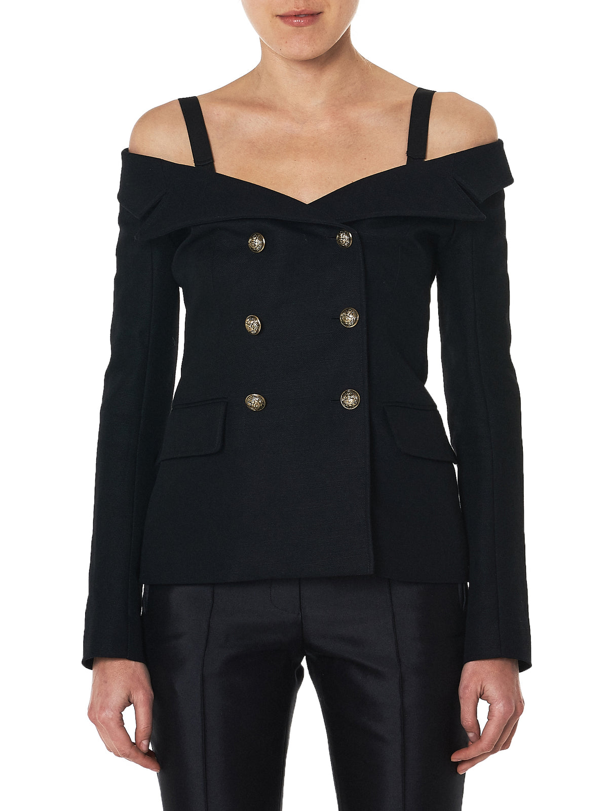 faith connexion off-shoulder blazer - H.Lorenzo Front