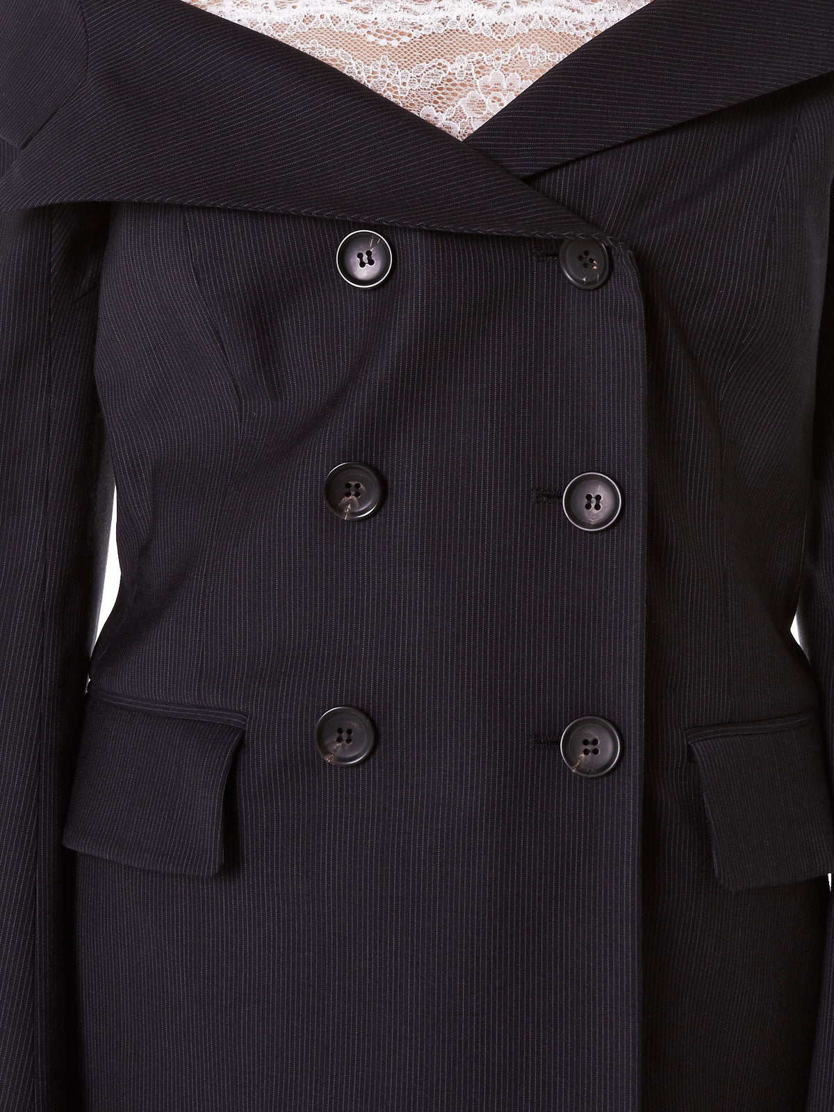 Laced 'Sail' Jacket (W1207T00013-NAVY)