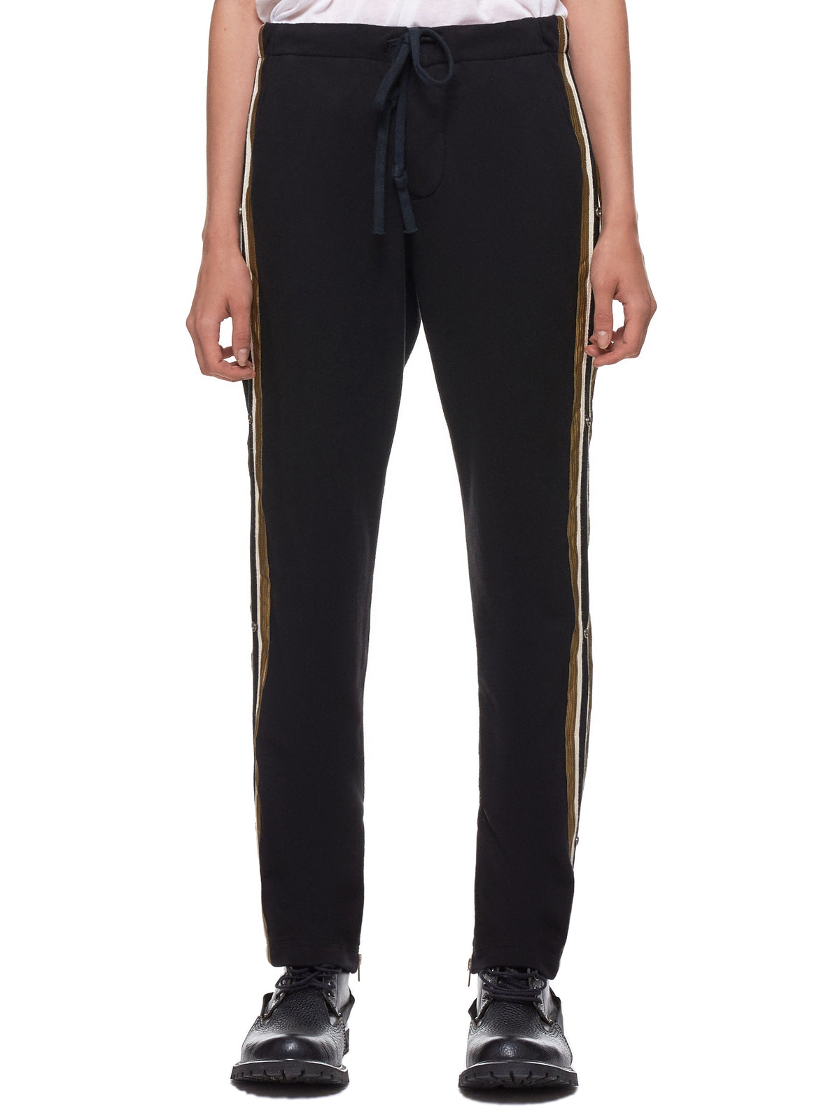 Black Royal Lounge Trousers (W228-BLACK)