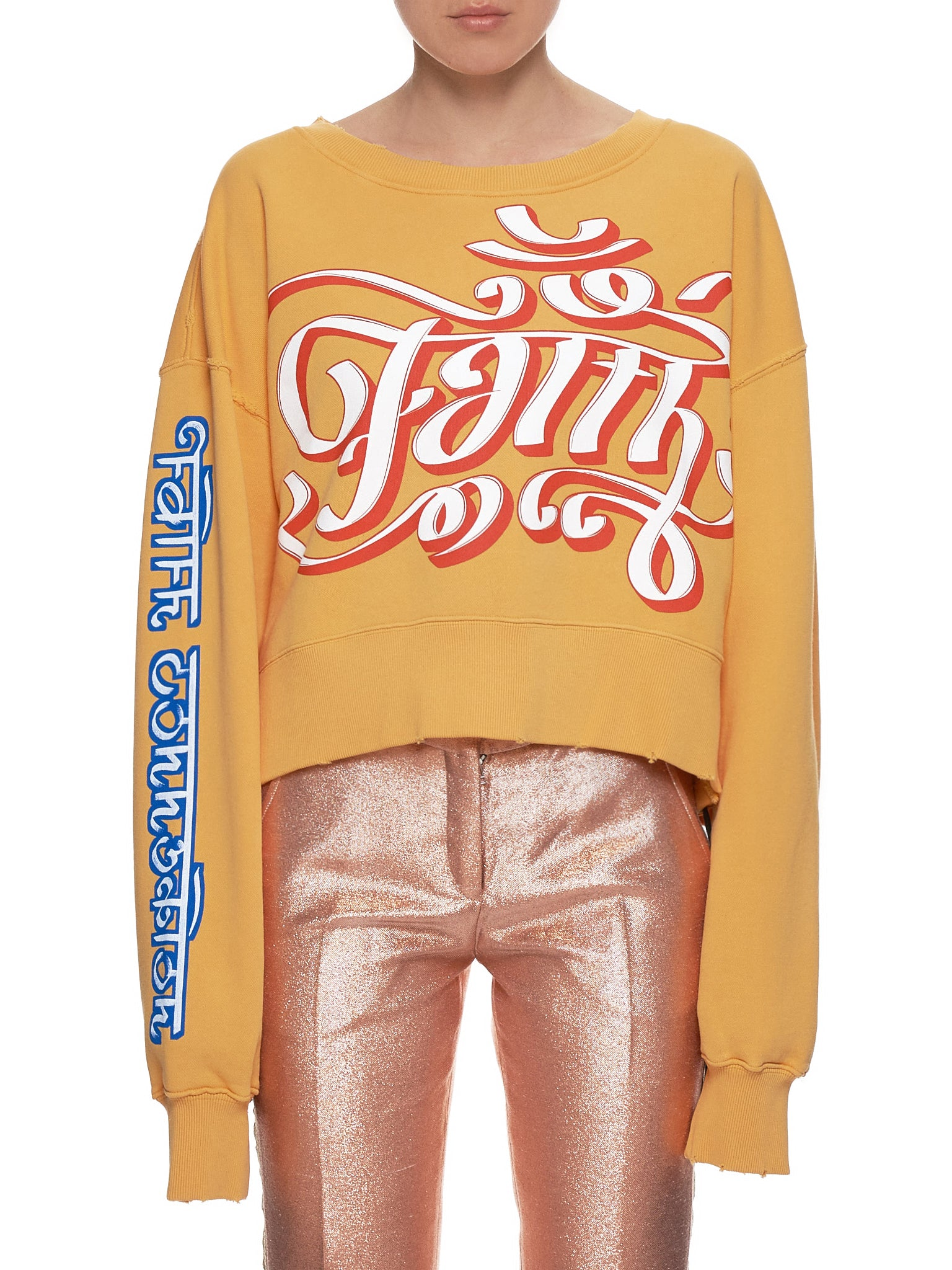 Faith Connexion Sweater - Hlorenzo Front