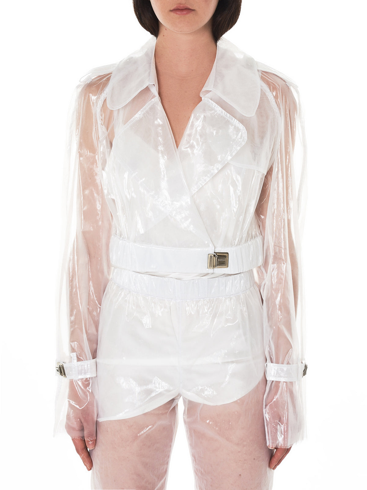Transparent Jacket (W803-WHITE)