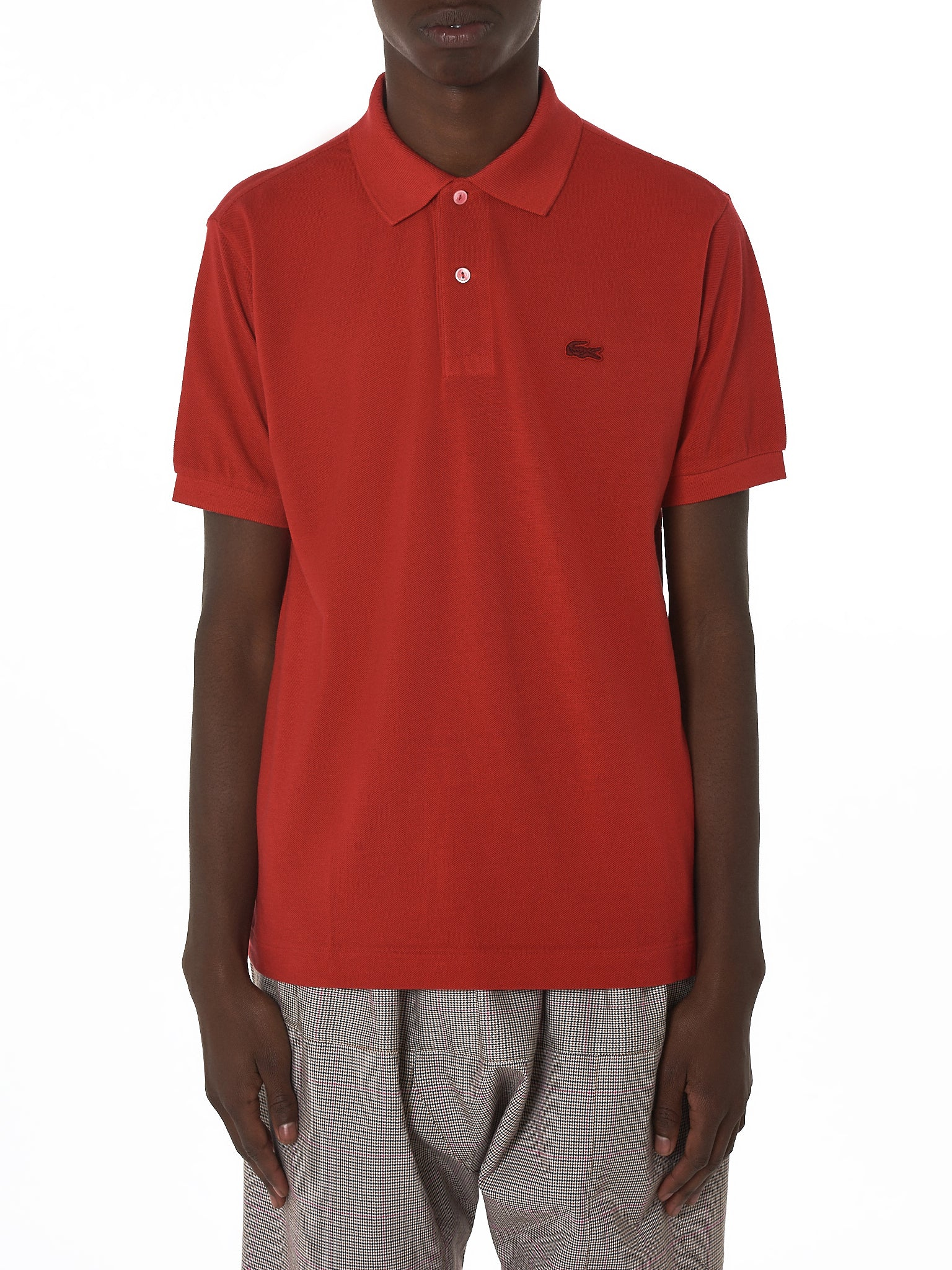 Lacoste Polo Shirts Red Bcd Tofu House