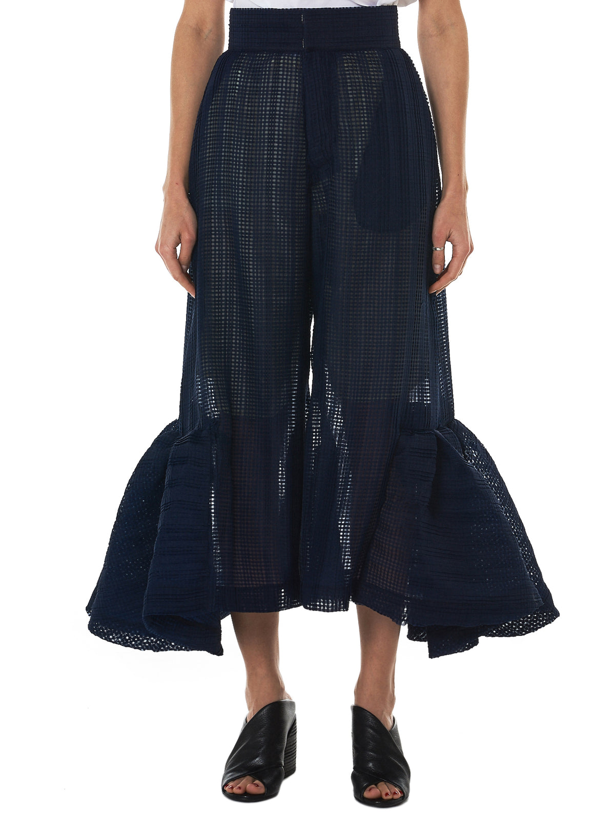 Written By Ruffled Tulle Pant - Hlorenzo Front