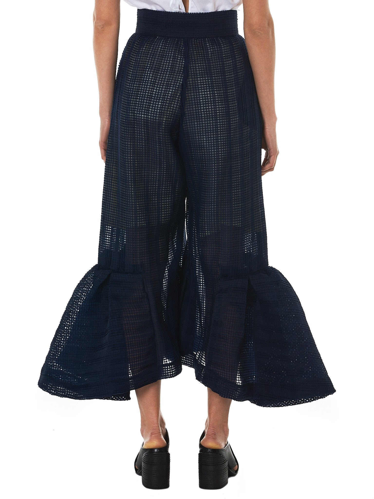 Written By Ruffled Tulle Pant - Hlorenzo Back