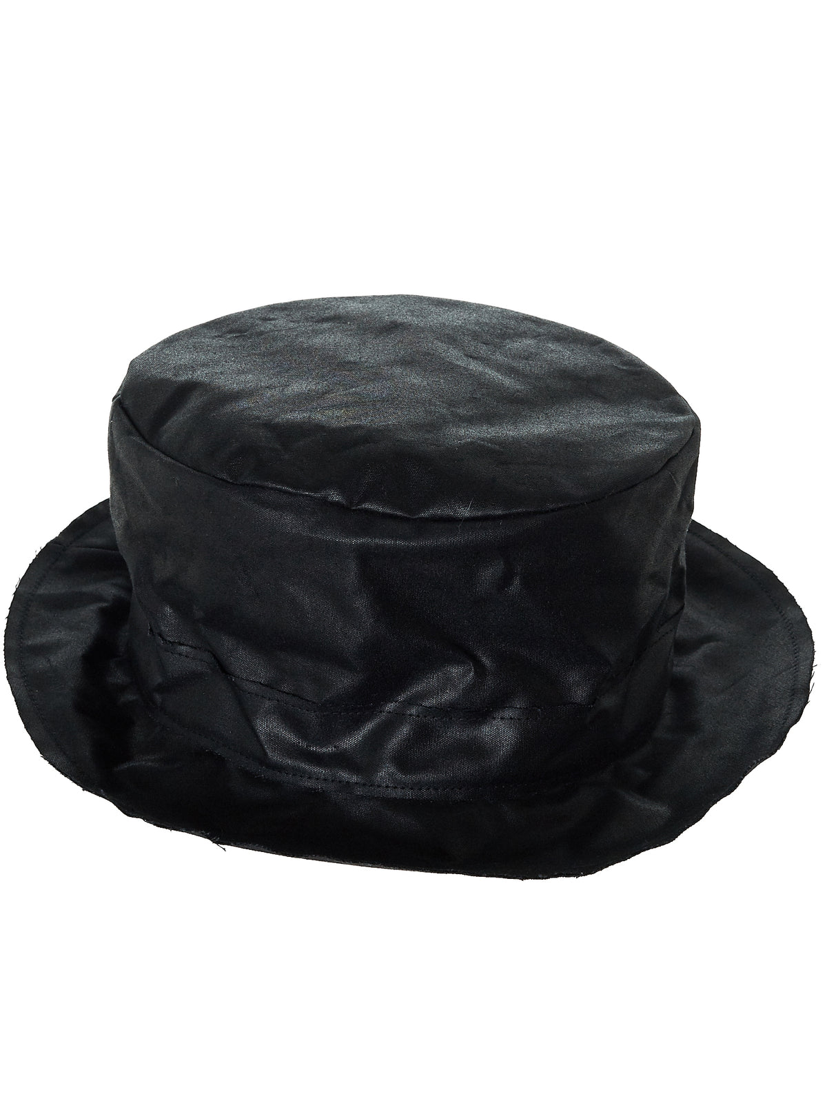 'Walk Time' Waxed Hat (WALK-TIME-BIG-WXC-MB-BLACK)