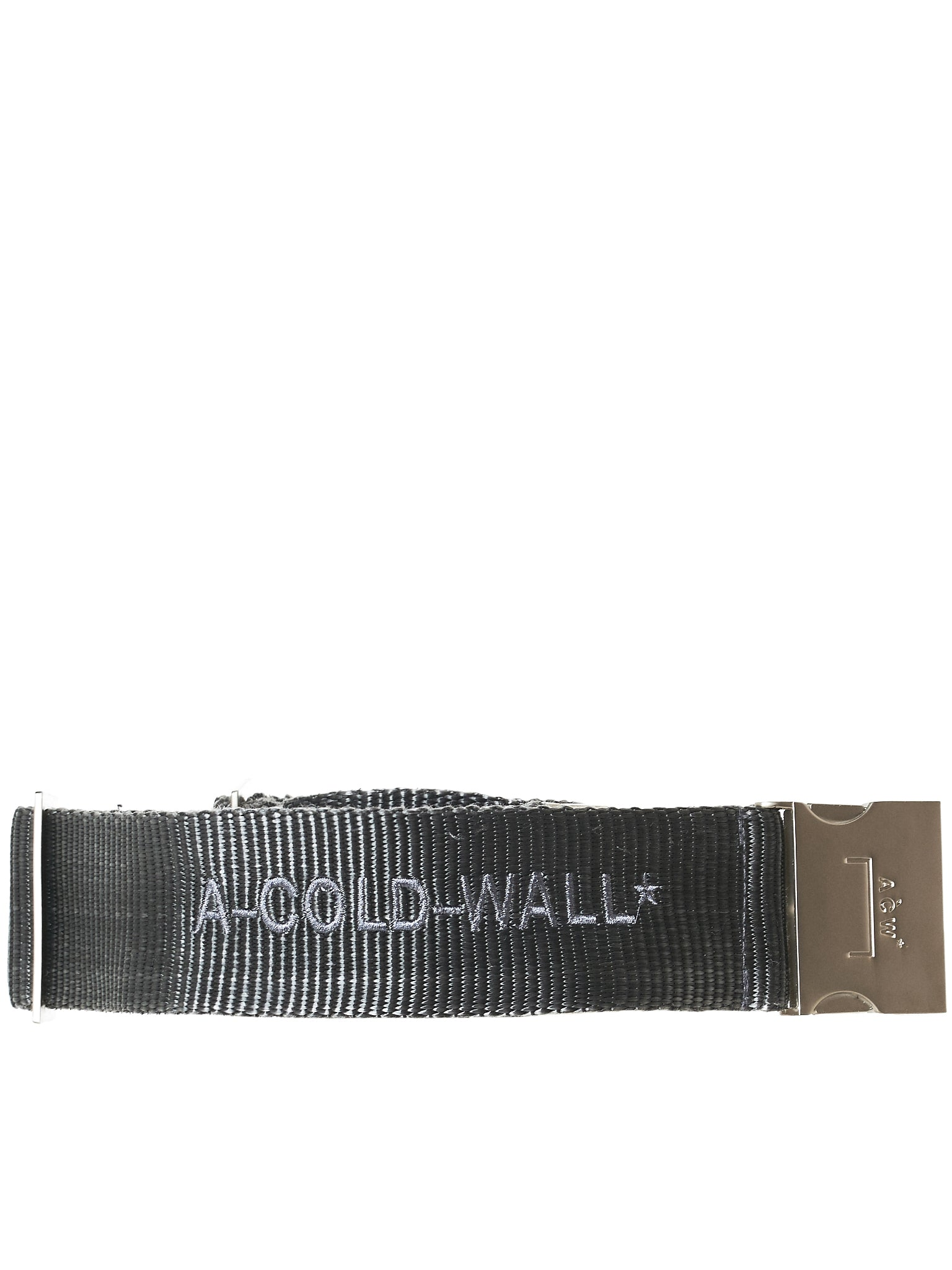 Grey and Black Webbing Belt A-Cold-Wall*