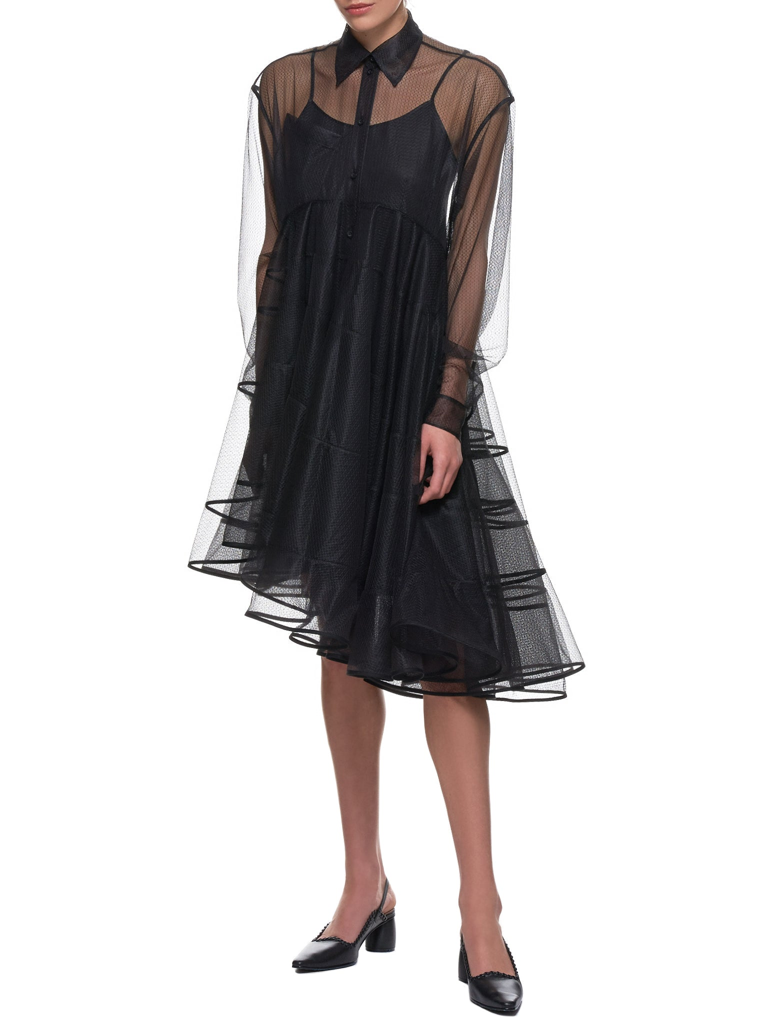 'Daelyn Dress' (WD06-BLACK)