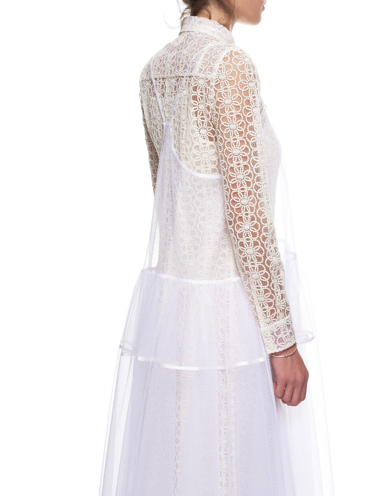 'Dancer Dress' (WD09-IVORY-FLOWERS)