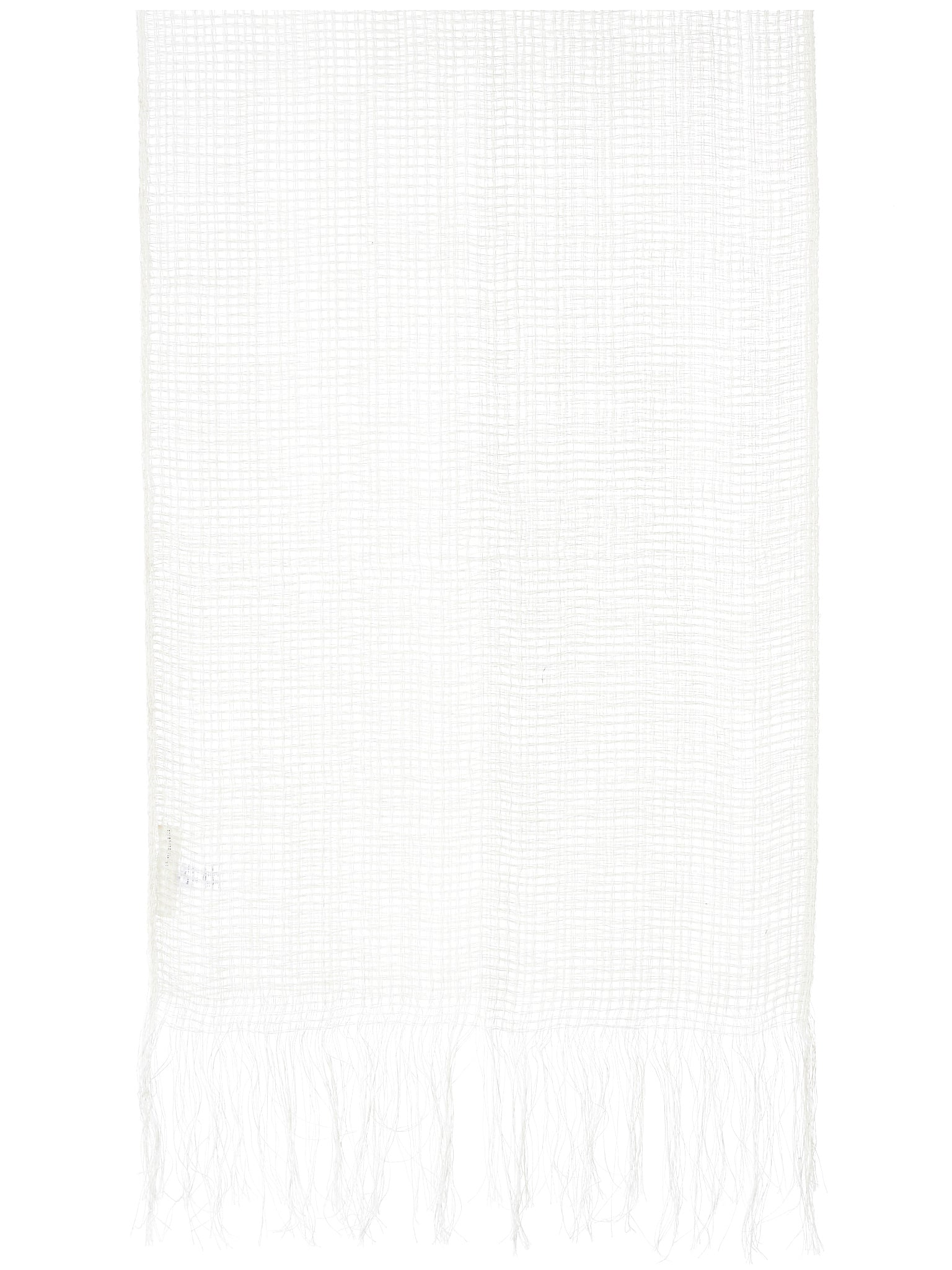 Fringed Scarf (WH12S18-MILK)