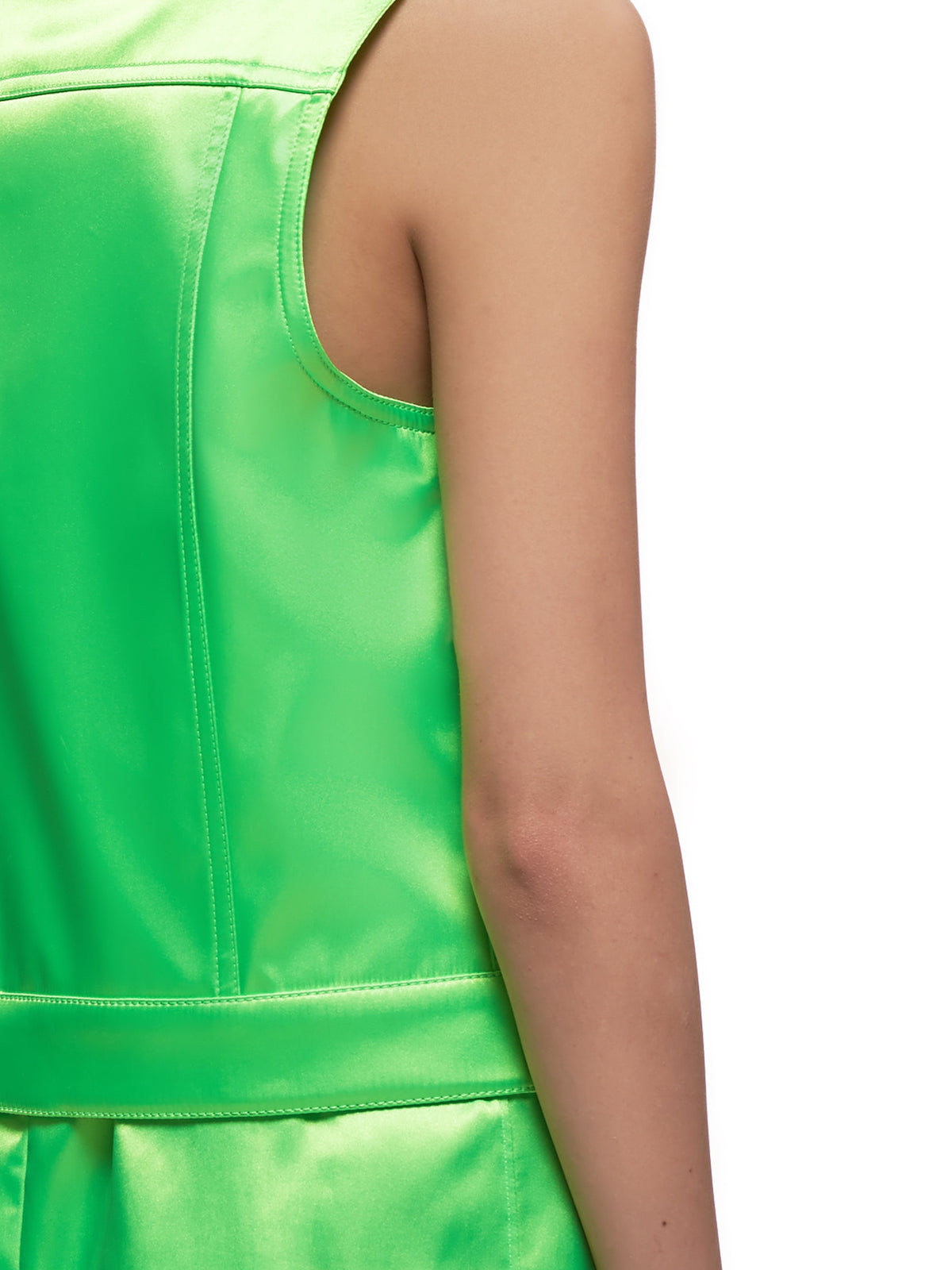 Neon Sleeveless Vest (WJ017W-PS-NEON-GREEN)