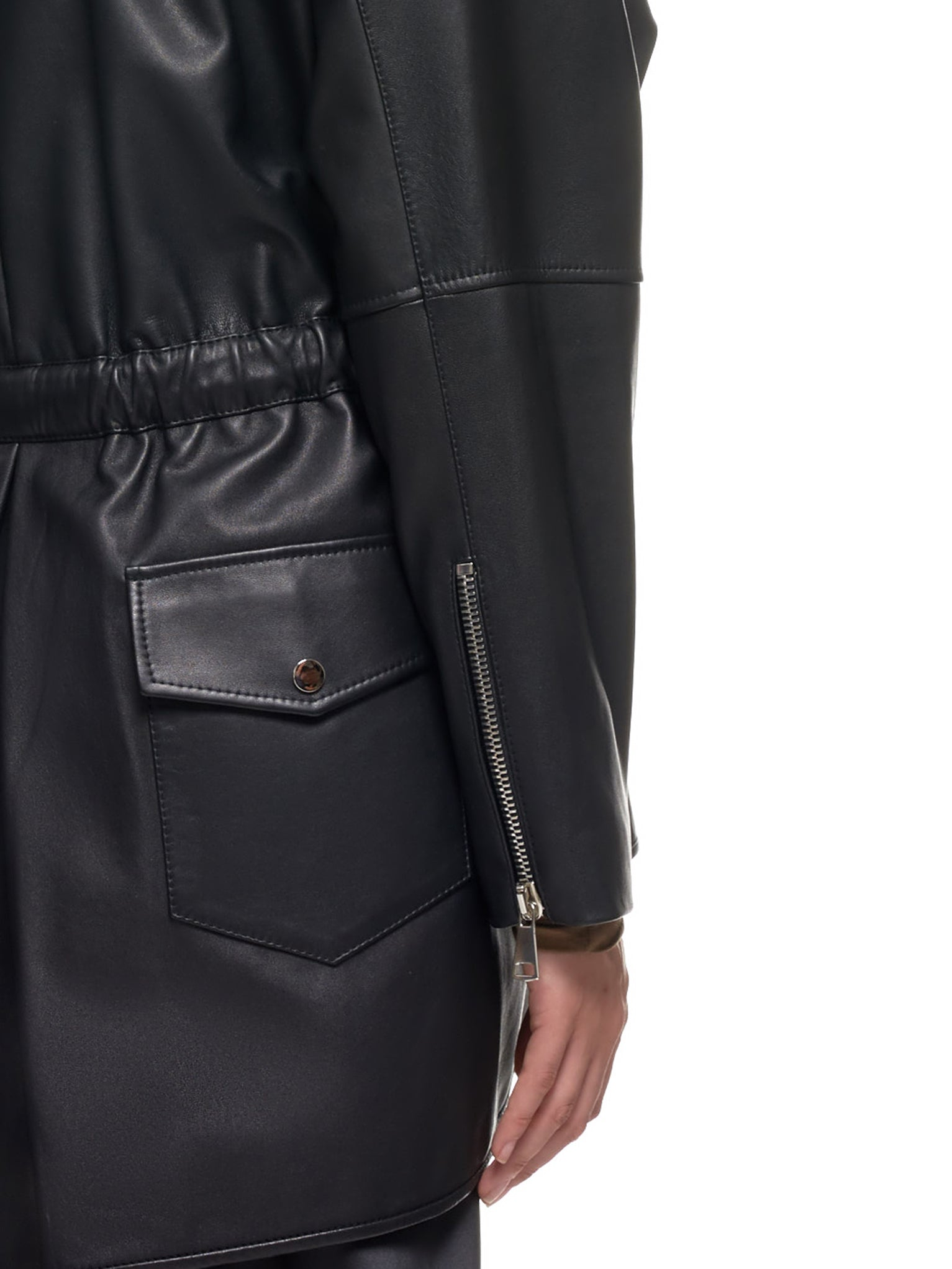 Lena Lumelsky Leather Jacket | H.Lorenzo Detail 2