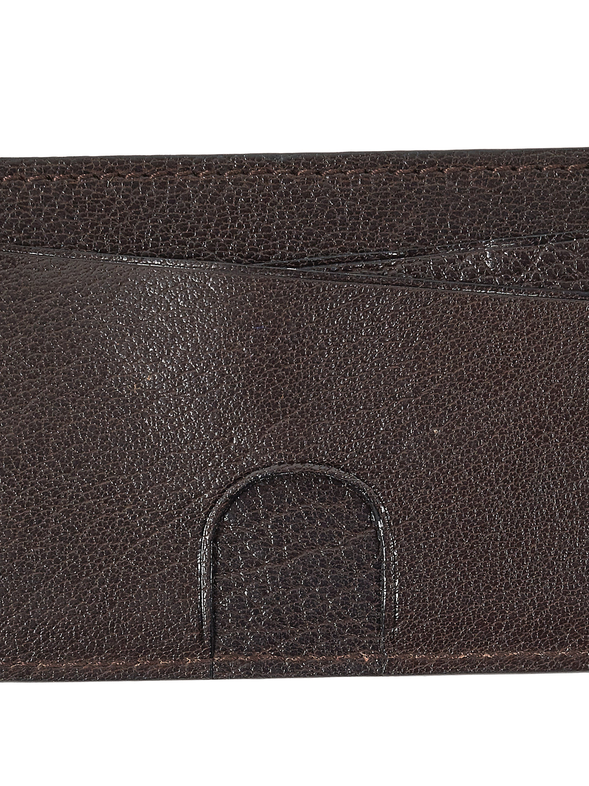 Tumbled Leather Cardholder (WL123-VGM-BROWN)