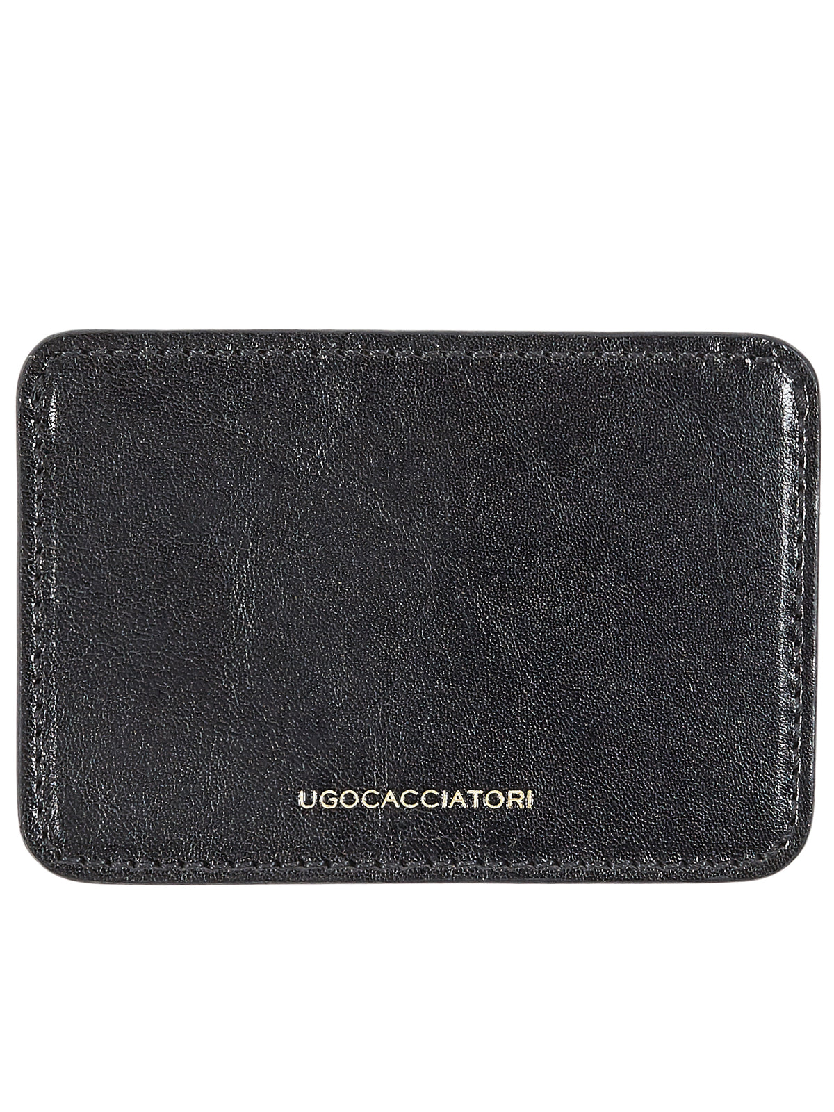 Tumbled Leather Cardholder (WL123-VGN-BLACK)