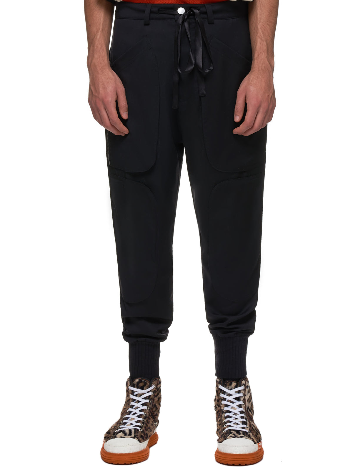Workman Trousers (WORKMAN-CARGO-PT-WOOL-BLK)
