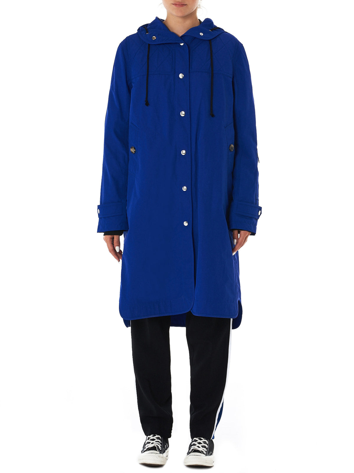 Tim Coppens- HLorenzo- raincoat front view