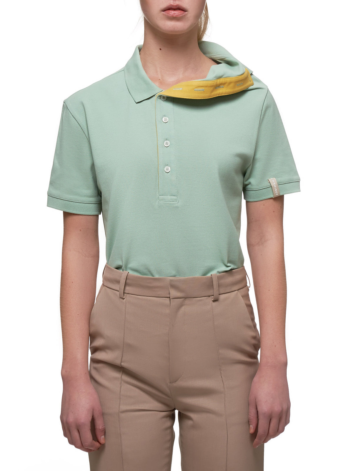 Polo Shirt (WPO7-S18-J10-LIGHT-GREEN)
