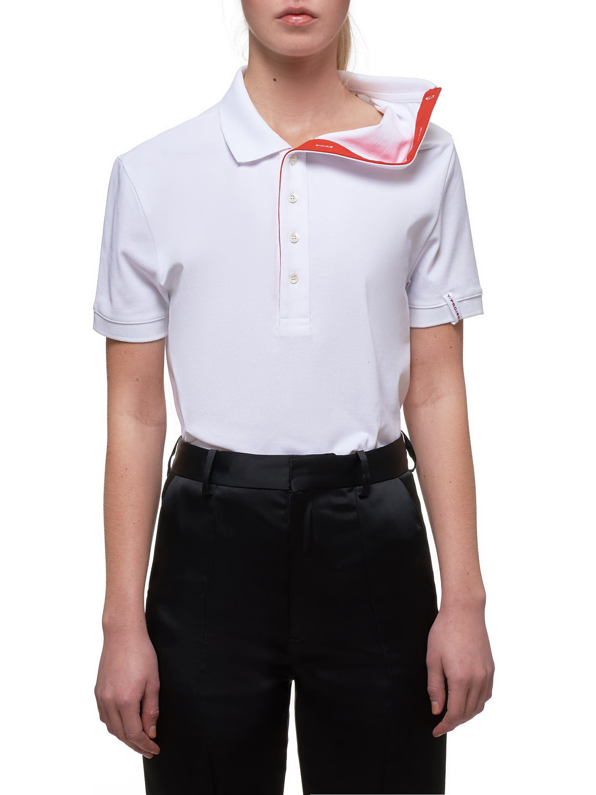 Polo Shirt (WPO7-S18-J10-WHITE)
