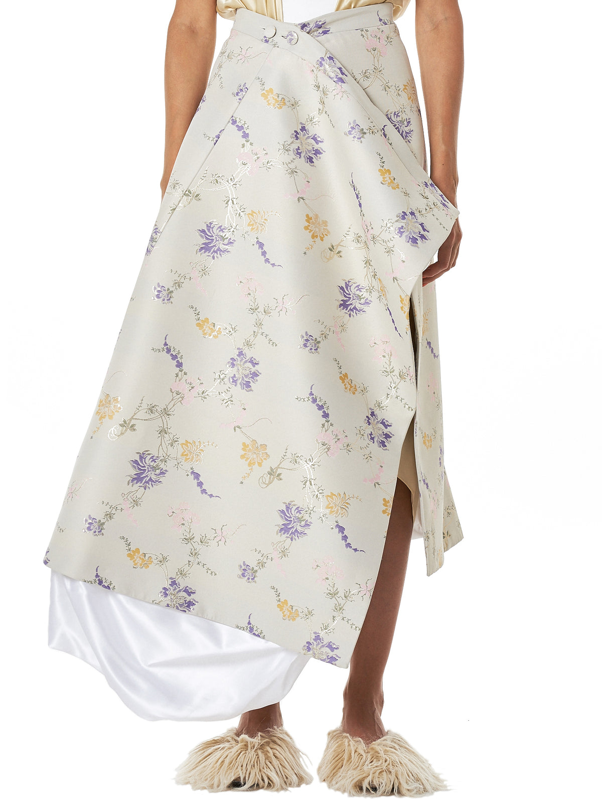 Y/Project Floral Skirt - Hlorenzo Front
