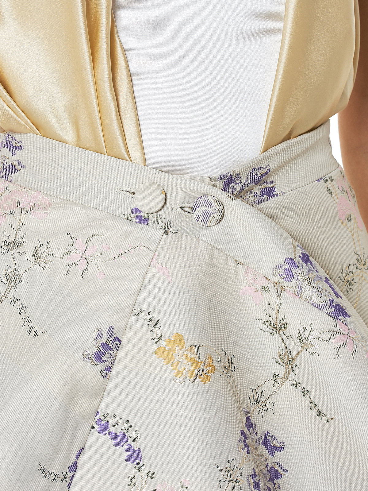 Y/Project Floral Skirt - Hlorenzo Detail 2