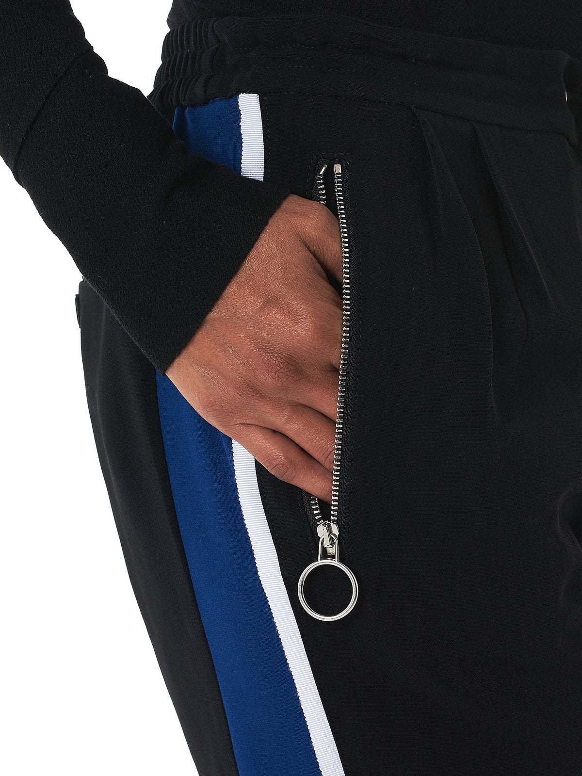 Tim Coppens- HLorenzo track pants detail