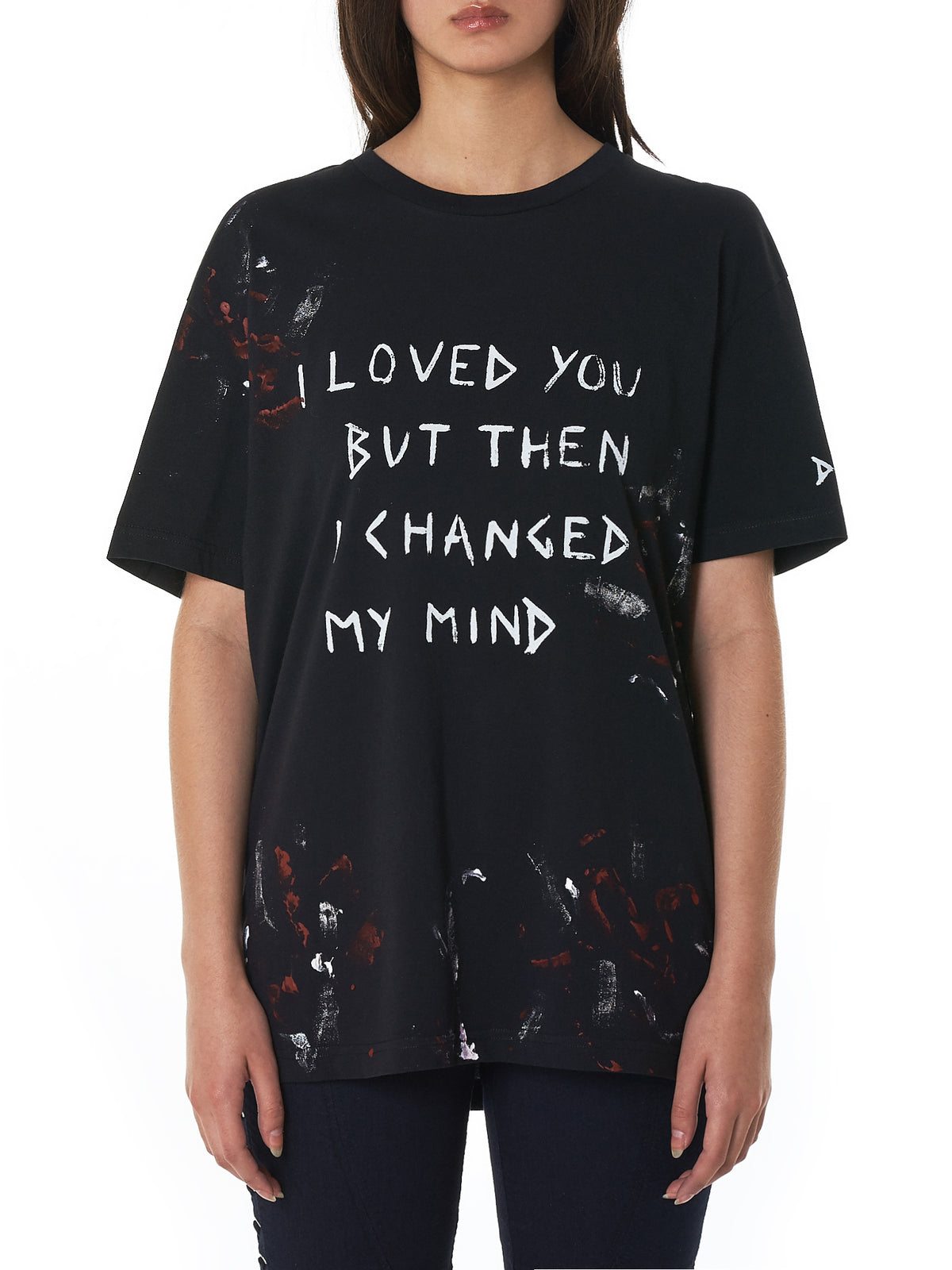 Faith Connexion Printed Tee Shirt - Hlorenzo Front