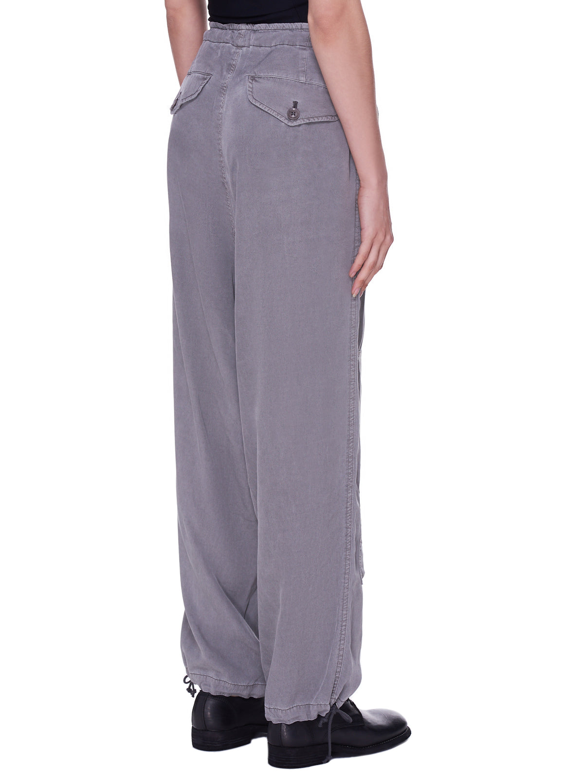 Kersey Pigment Dye Trousers (YD-P05-202-LIGHT-GREY)