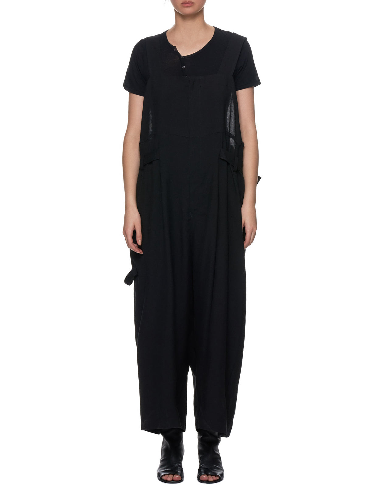 Sleeveless Jumpsuit (YH-D02-203-BLACK)