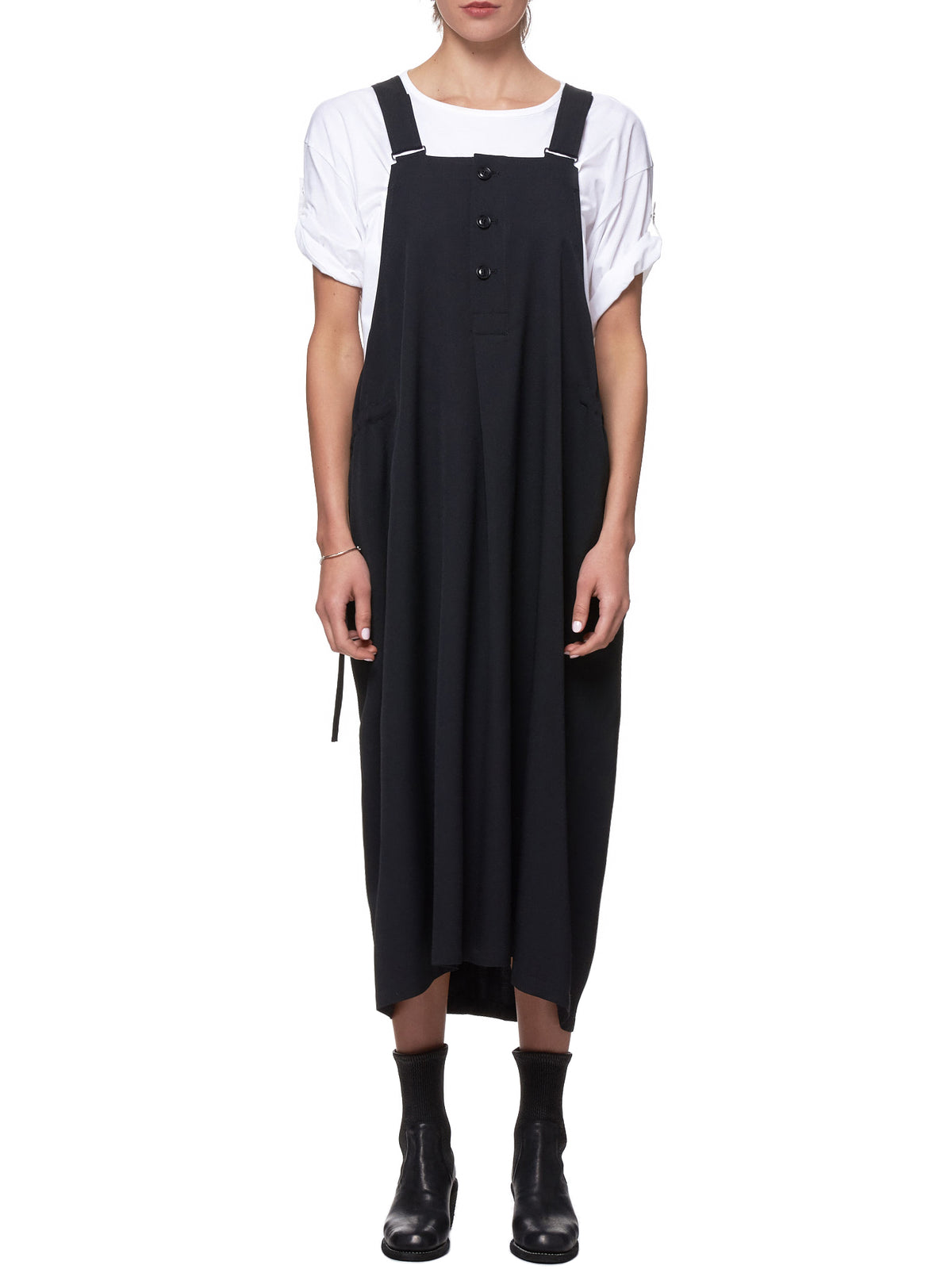 Overall Dress (YH-D11-100-BLACK)
