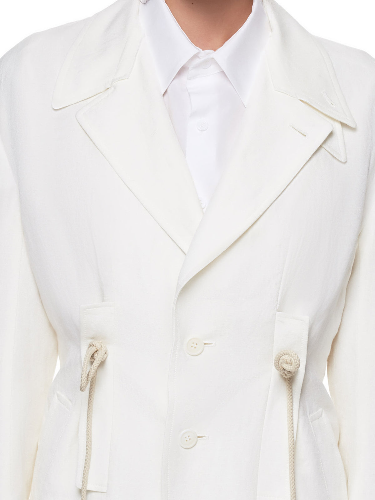 Rope Jacket (YH-J04-300-WHITE)