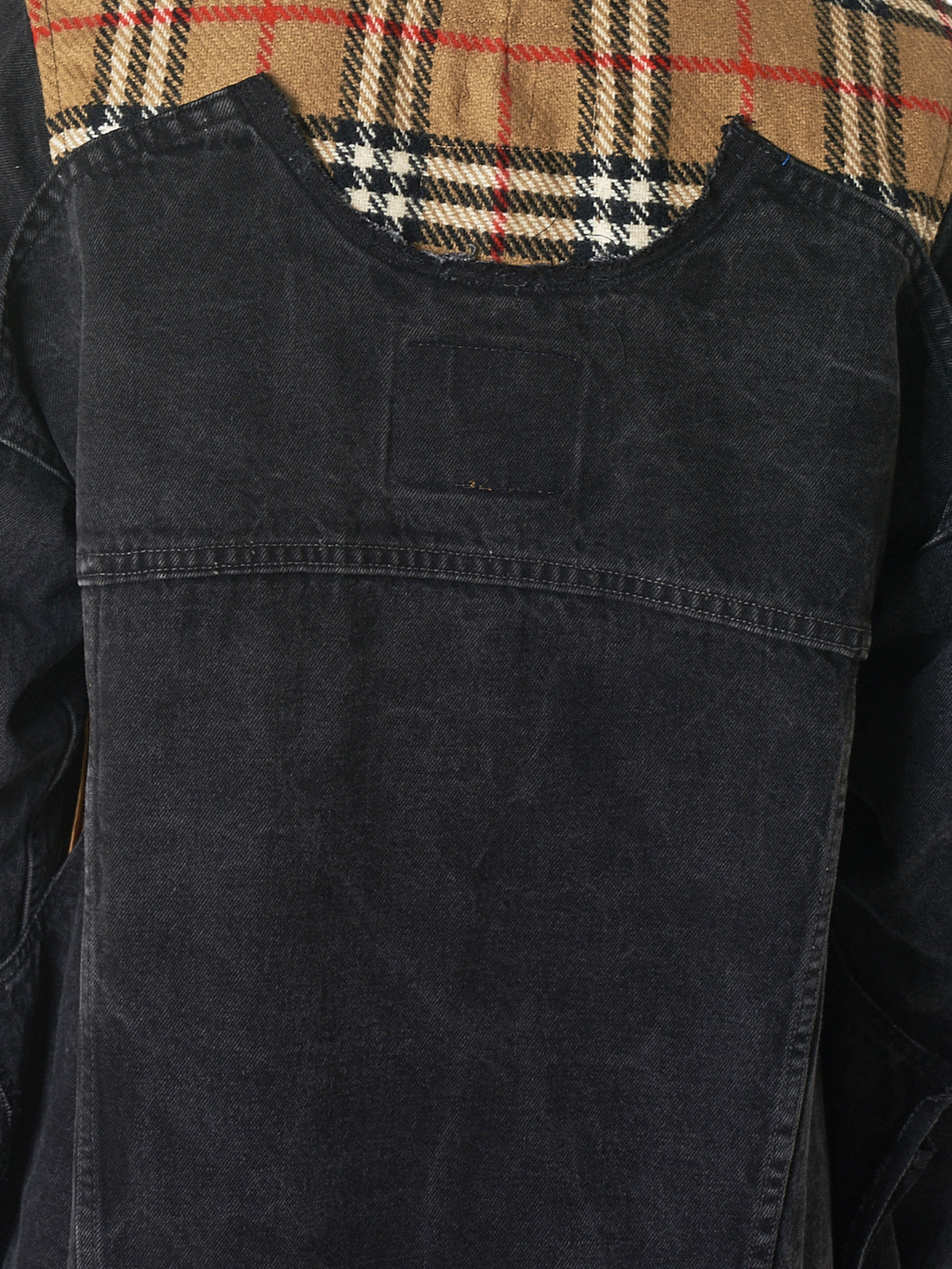 Yah! Denim Coat - Hlorenzo Detail 2