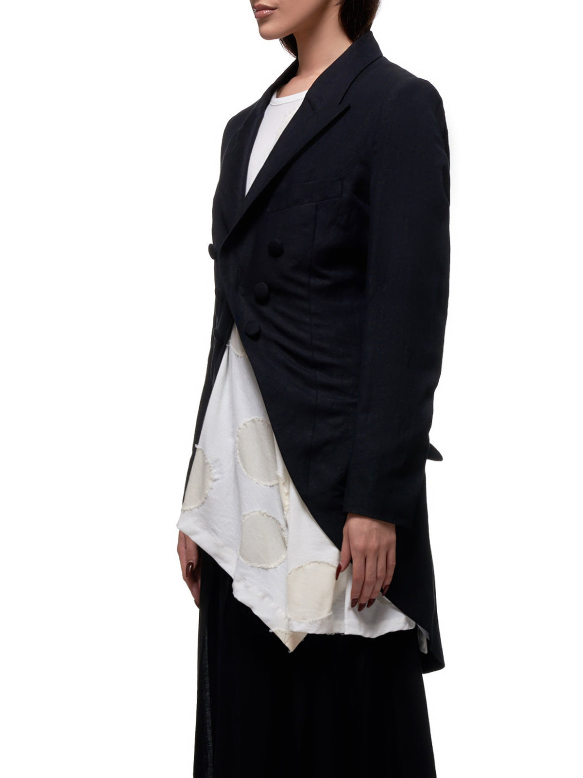 Linen Jacket (YN-J02-300-BLACK)