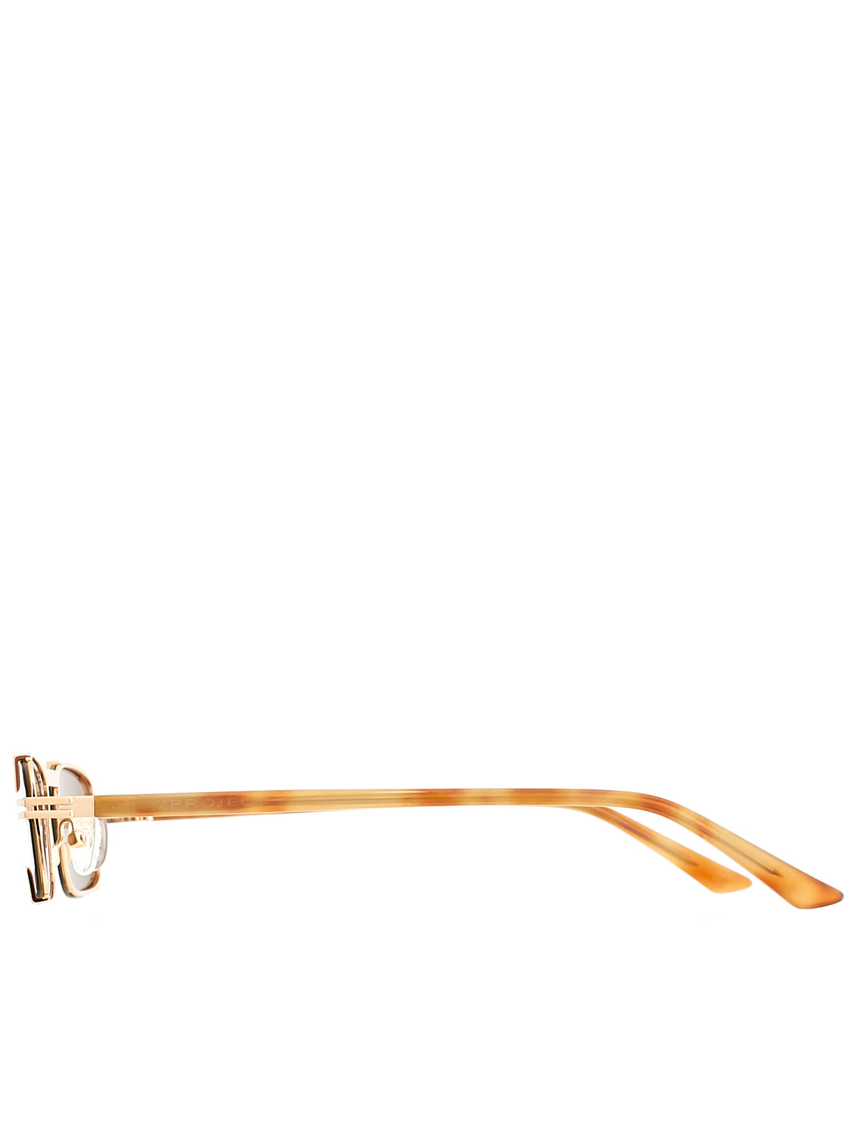 Y/Project Linda Farrow Sunglasses - Hlorenzo Side