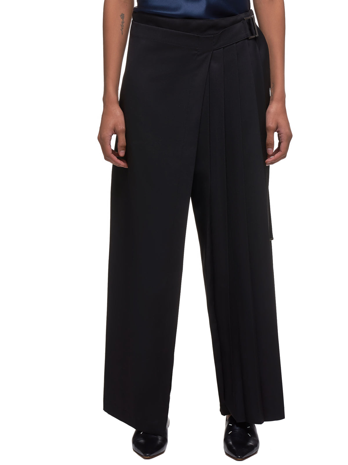 Pleated Trousers (YS-K90-945-BLACK)