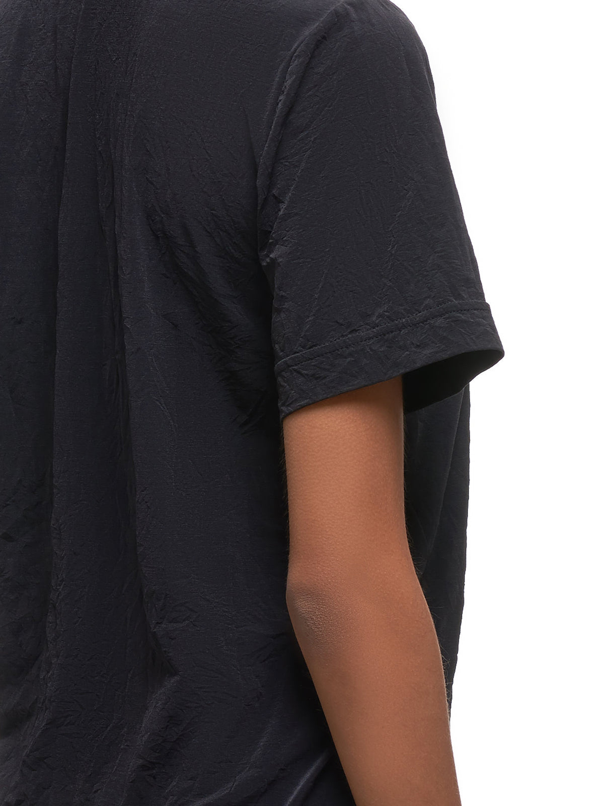 Ruffled T-Shirt (YS-T07-672-BLACK)