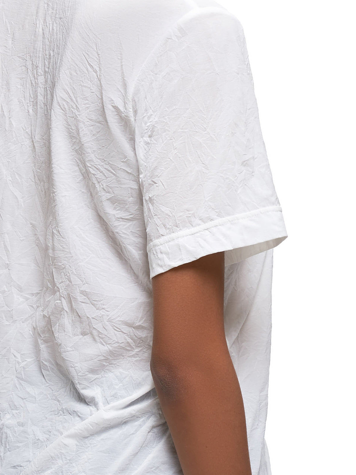 Ruffled T-Shirt (YS-T07-672-WHITE)
