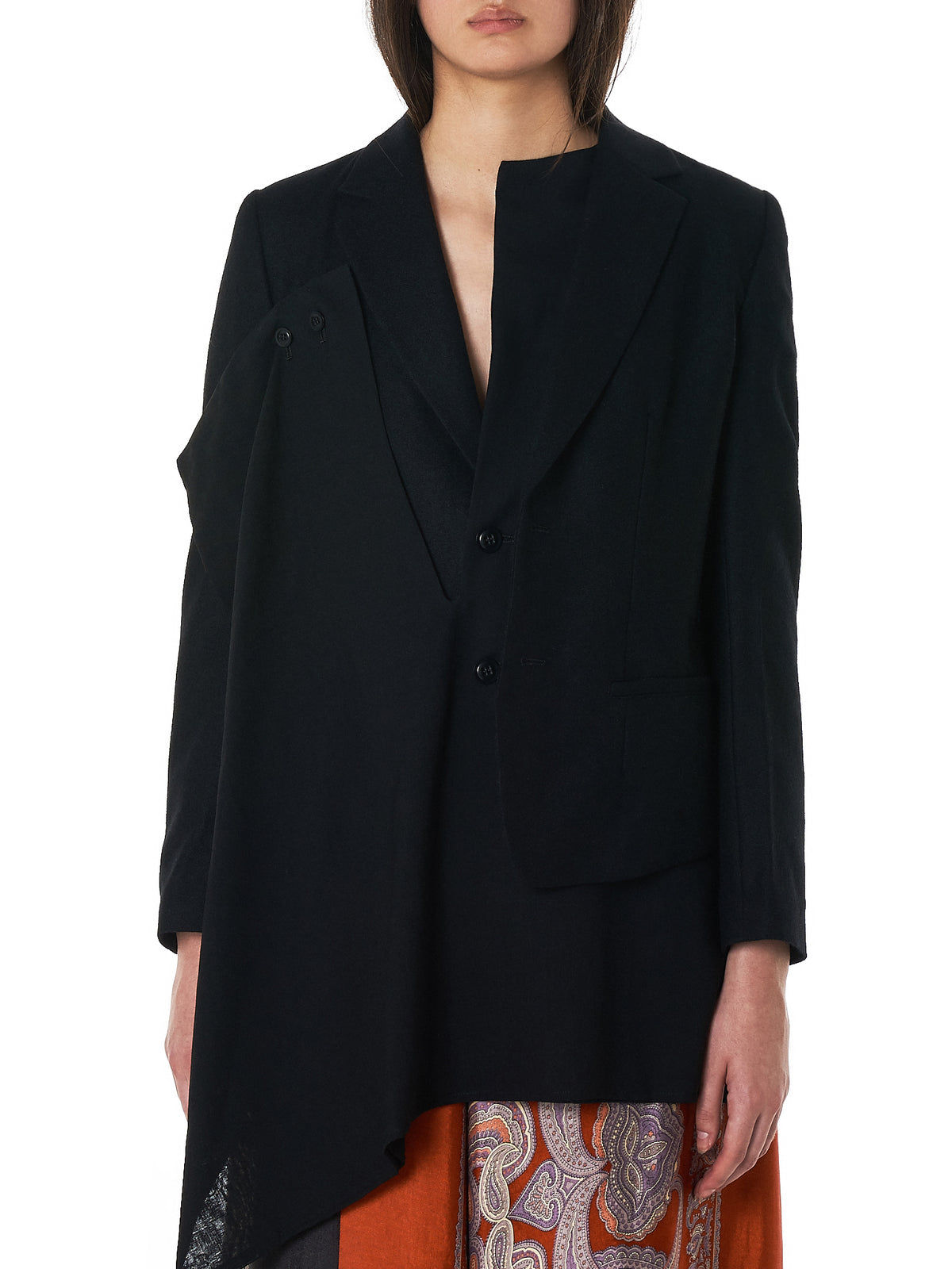 Thin Top Flannel Jacket (YV-J08-117-3-BLACK)