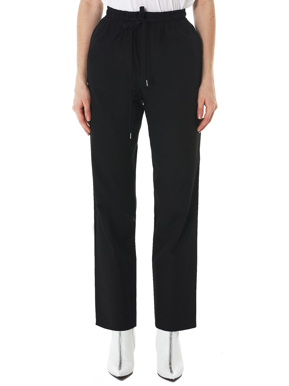 Elasticized Trousers (YW-P49-030-BLACK)