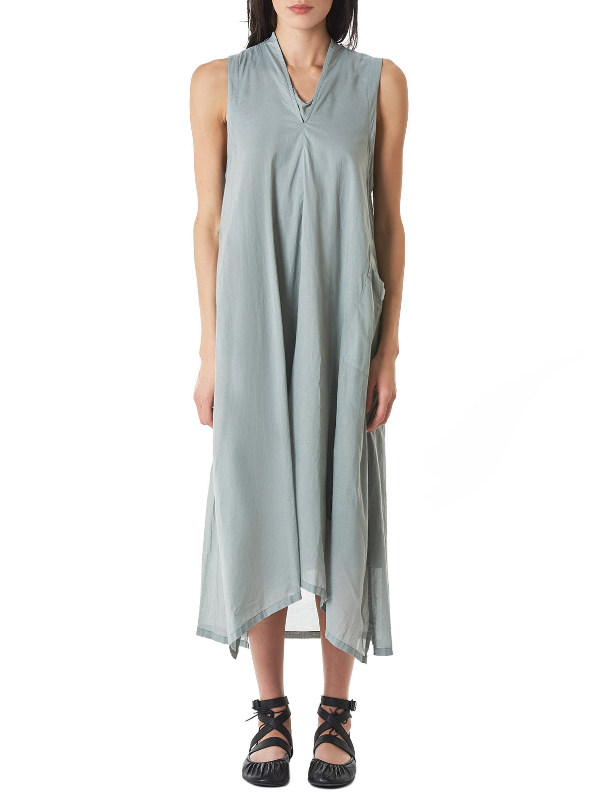 Sleeveless Layered Dress (YZ-D07-028-LIGHT-GREEN)