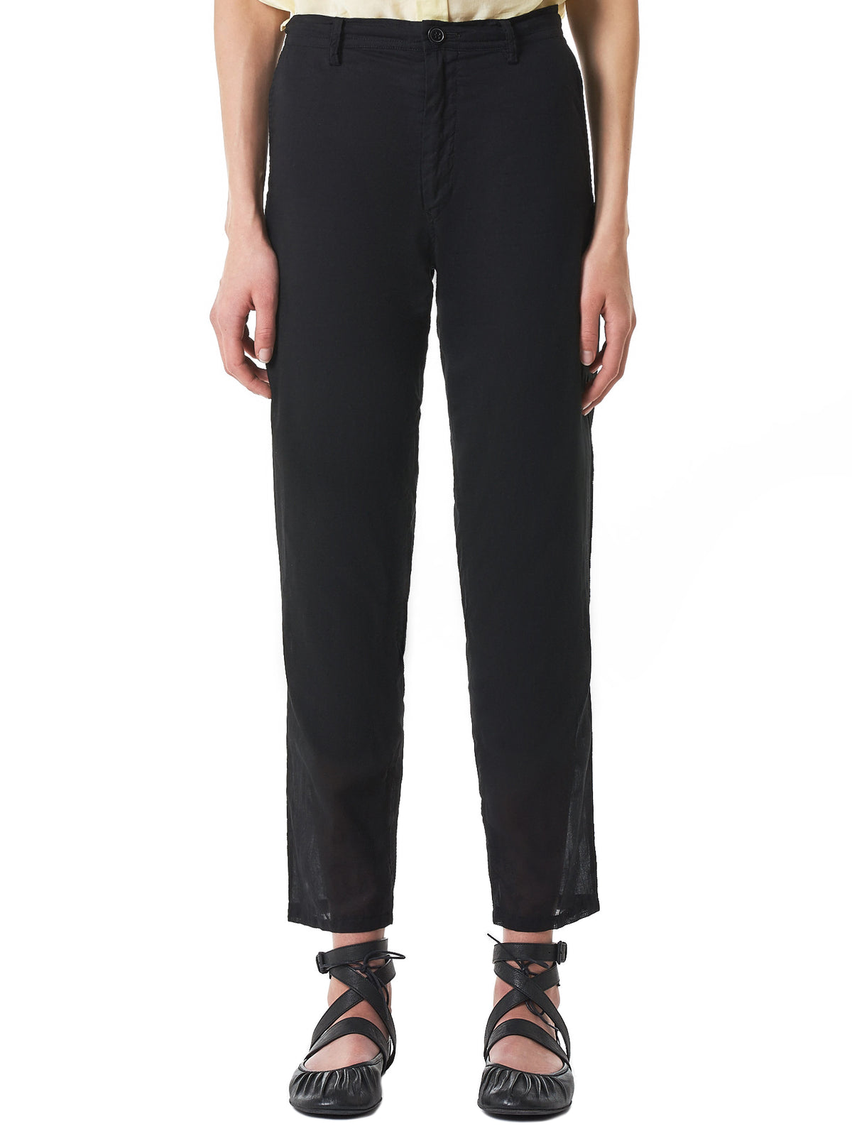 Lined Light Trousers (YZ-P08-028-BLACK)